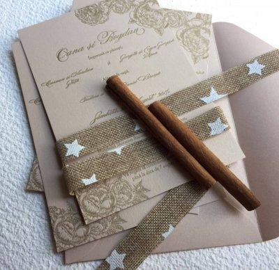 Invitatii Nunta - Ink Paper Art - Oana & Bogdan - 1100px - 1