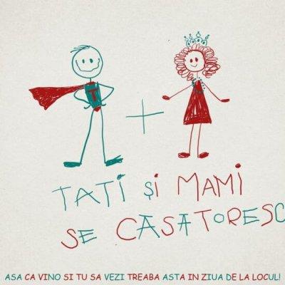 Inkpaperart - Invitatii creative - Mami si Tati