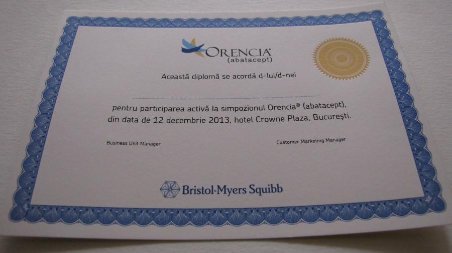 Diplome Orencia