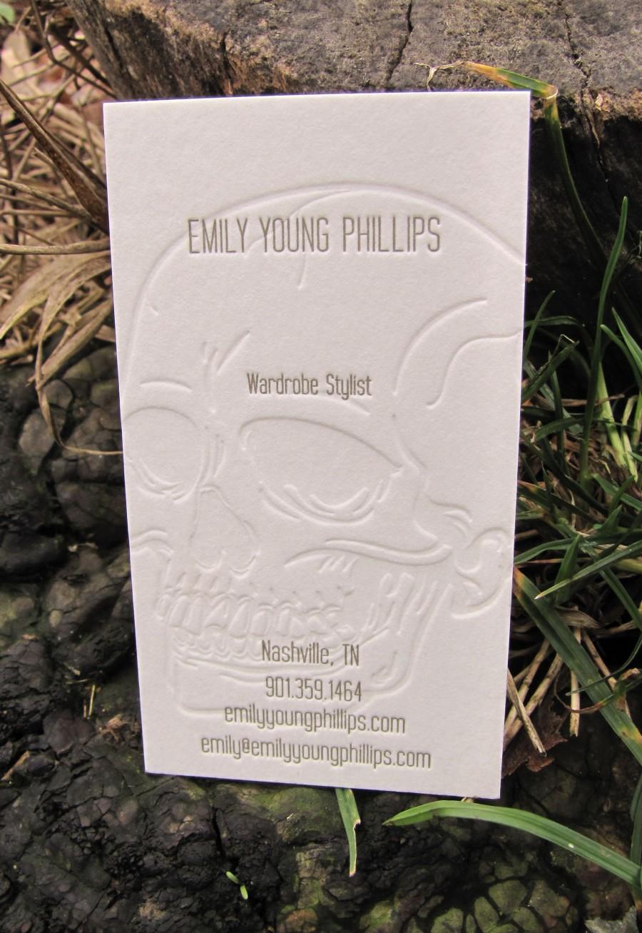 Carti de vizita Emily Young Phillips