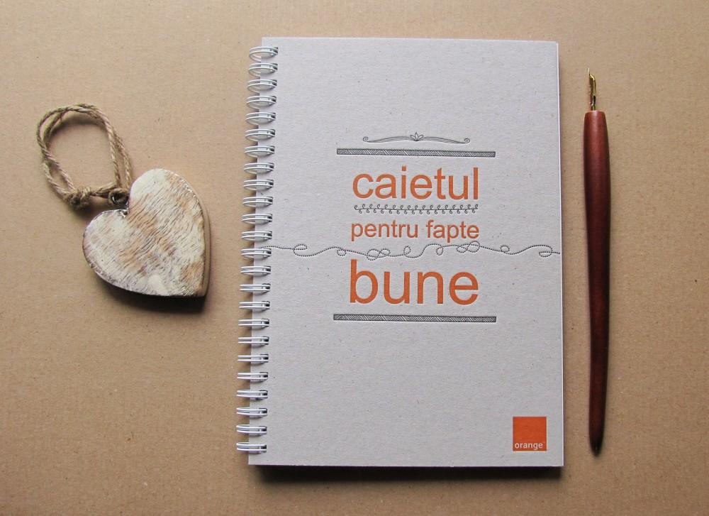 Notebook Orange