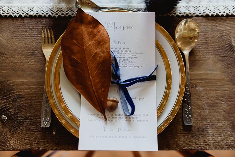 Meniuri nunta tomnatica