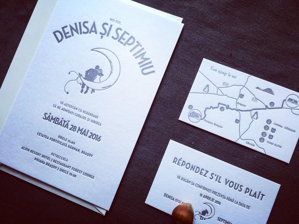 Invitatii nunta Denisa & Septimiu