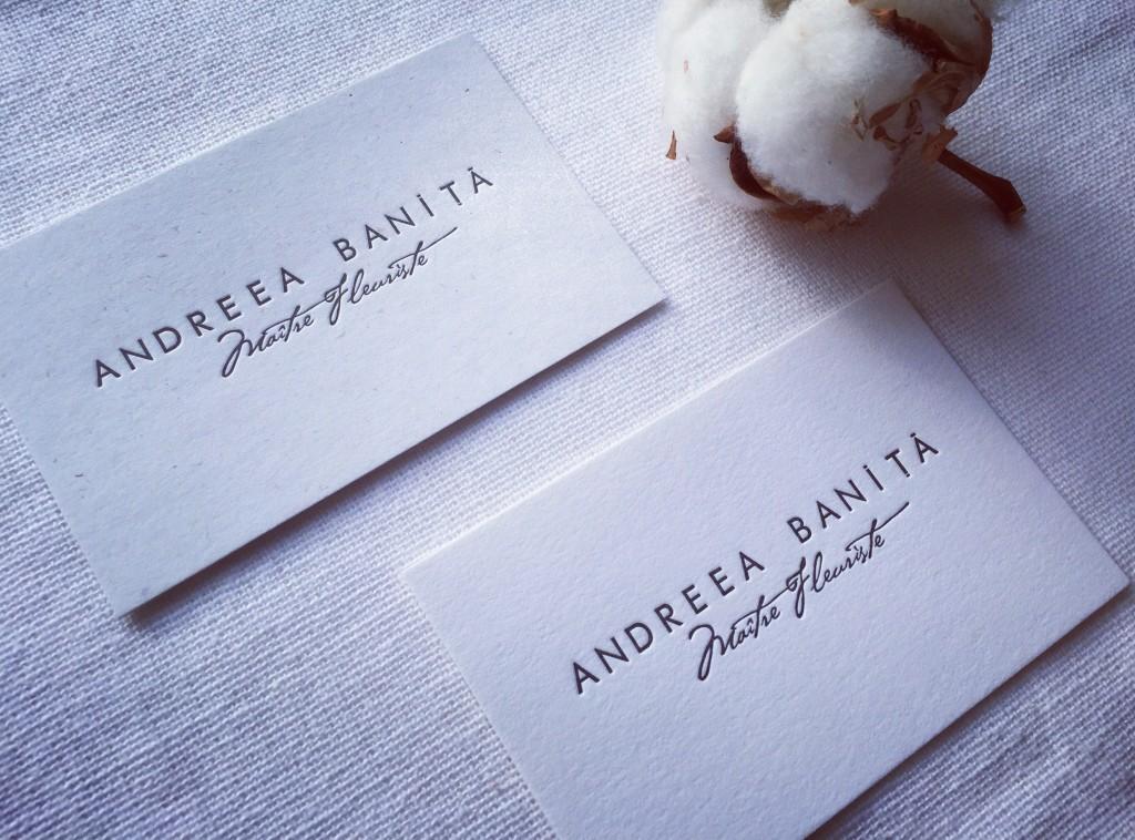 Business Cards Andreea Banita