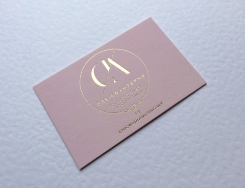 Gold Foil Business Cards Design Anarchy