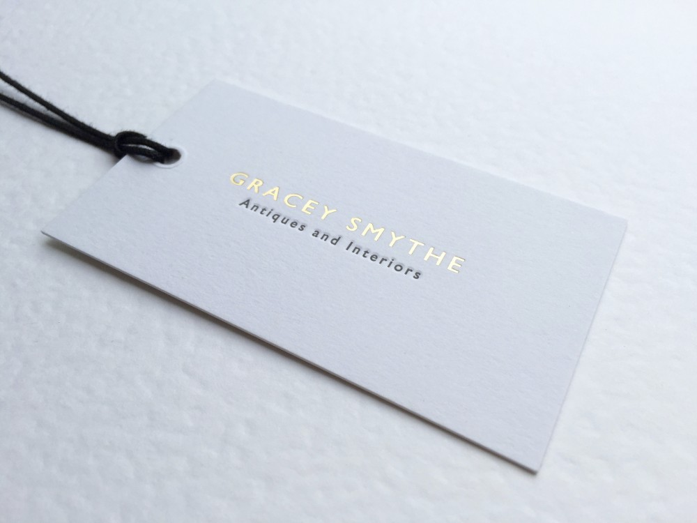Gracey Smythe Letterpress Tags