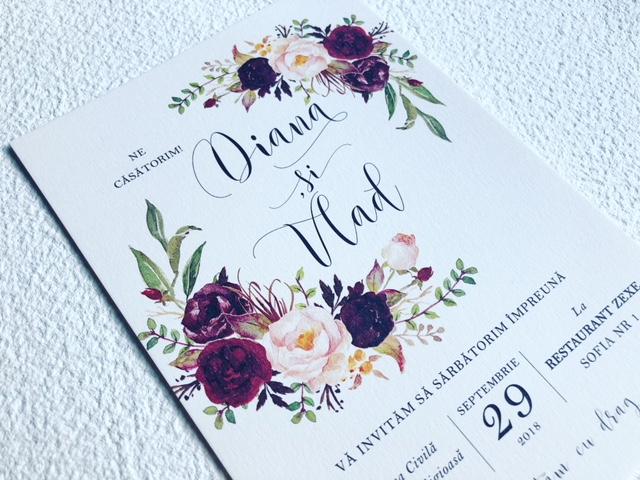Wedding Invitations Diana & Vlad