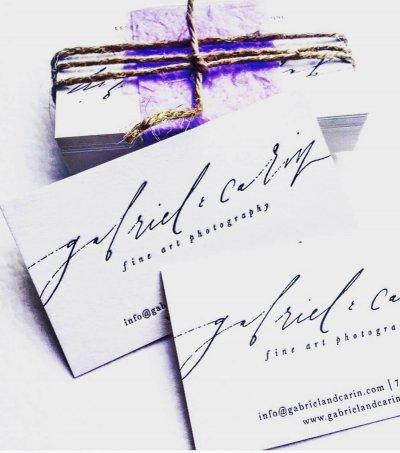 Carti de Vizita - Ink Paper Art - Cabriel&Carin - 1100px - 2