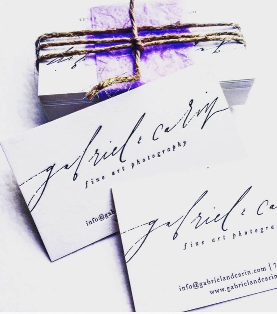 Business Cards Gabriel & Carin