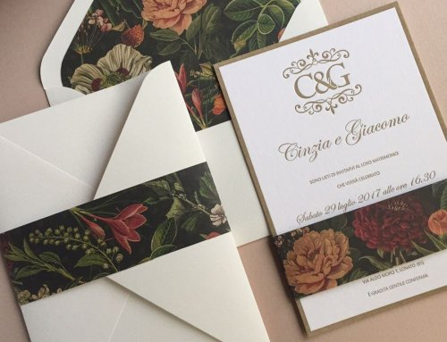 Wedding Invitations Cinzia & Giacomo