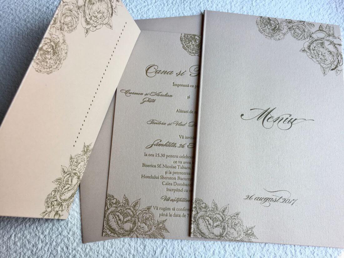 Invitatii Nunta - Ink Paper Art - Oana & Bogdan - 1100px - 7