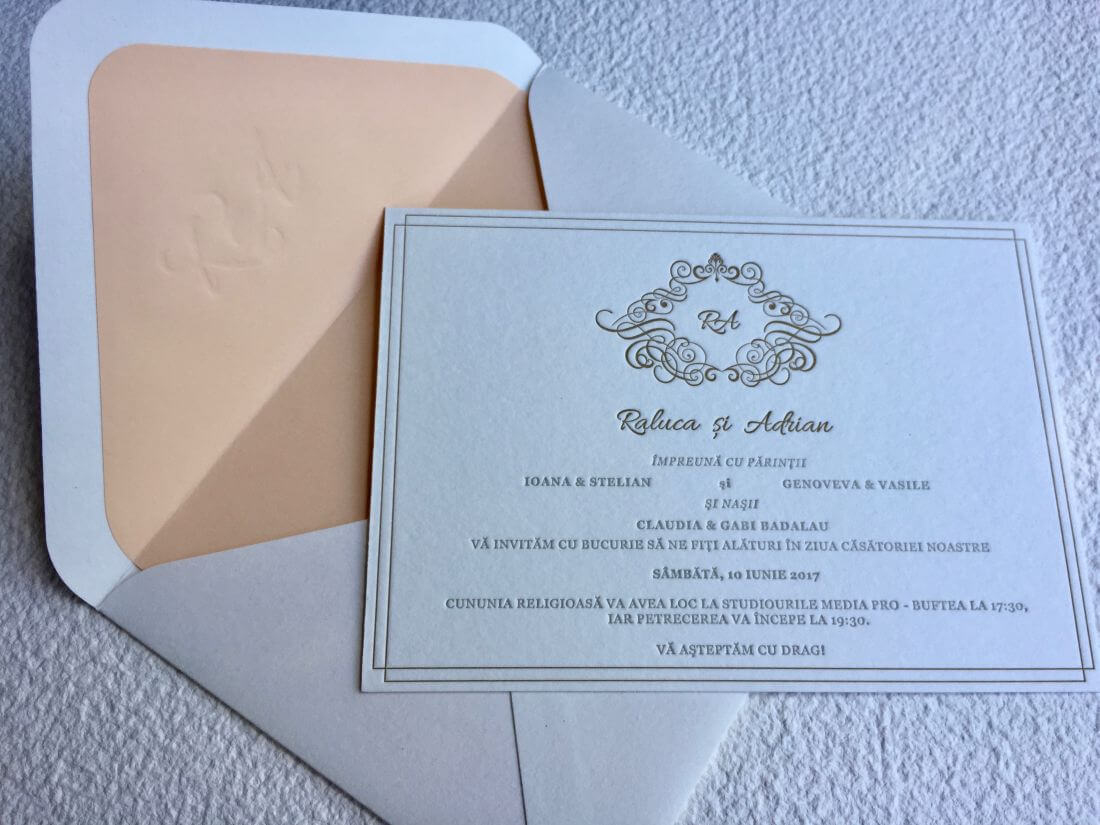 Wedding Invitations Raluca & Adrian