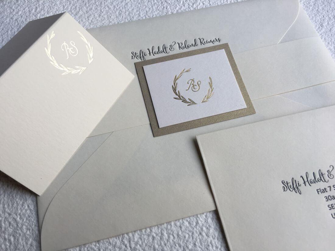 Invitatii Nunta - Ink Paper Art - Steffi&Roland - 1100px - 3