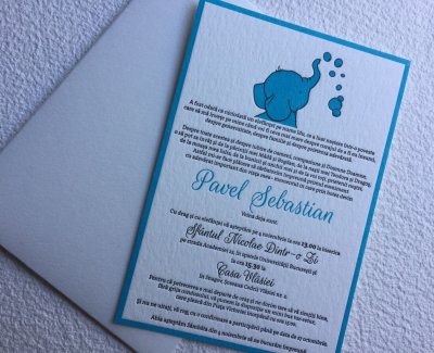 Invitatii Botez - Ink Paper Art - Pavel Sebastian - 1100px - 1