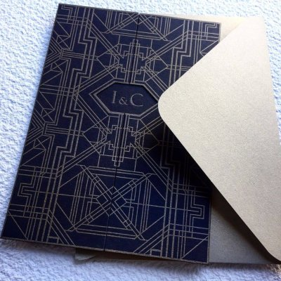 Invitatii Nunta - Ink Paper Art - Iza & Catalin - 1100px - 3